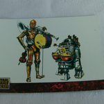 Star Wars Galaxy 1993 Topps #78the art of Star Wars Trading card